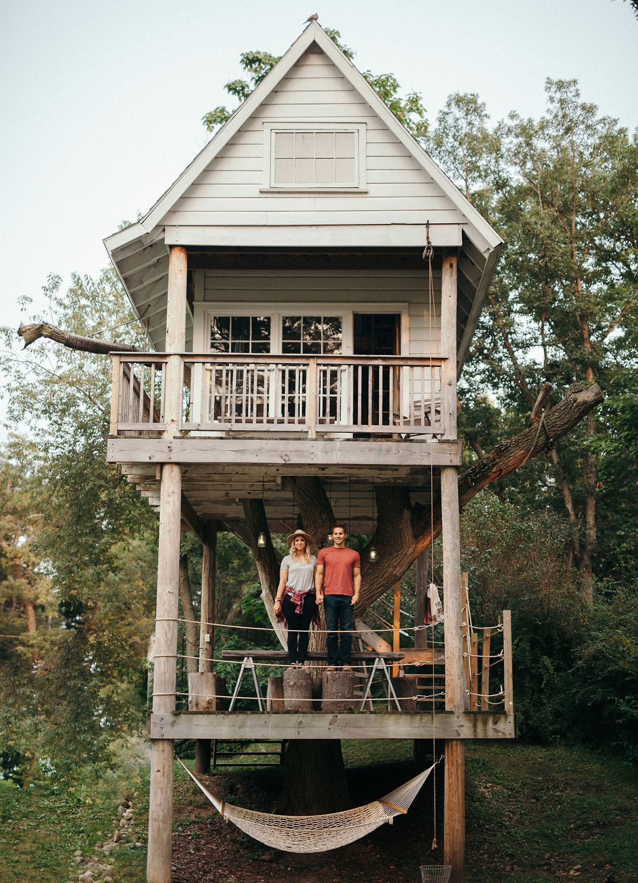 From treehouses in the ancient Costa Rican rainforests to treetop getaways surrounded by South African wildlife, we're taking the climb up to 28 of the world's most amazing treehouses. | Photo: Cassie Rosch