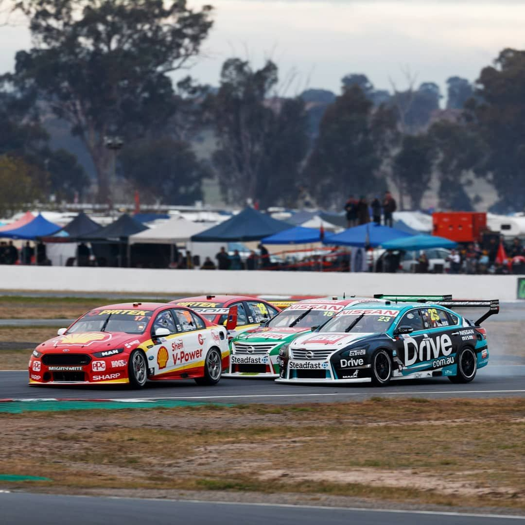 Supercars On Instagram Three Wide And Locked Brakes All The Action Continues This Weekend As We Prepare To Take O Super Cars Classic Cars Muscle Touring