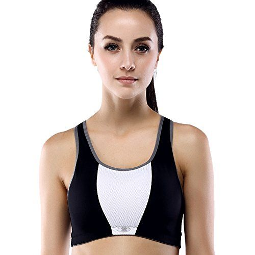 9f964502f Yvette Womens Shockproof High Impact Sports Bra 080151BlackWhite40C   You  can find out more details at the link of the image. (This is an affiliate  link)   ...