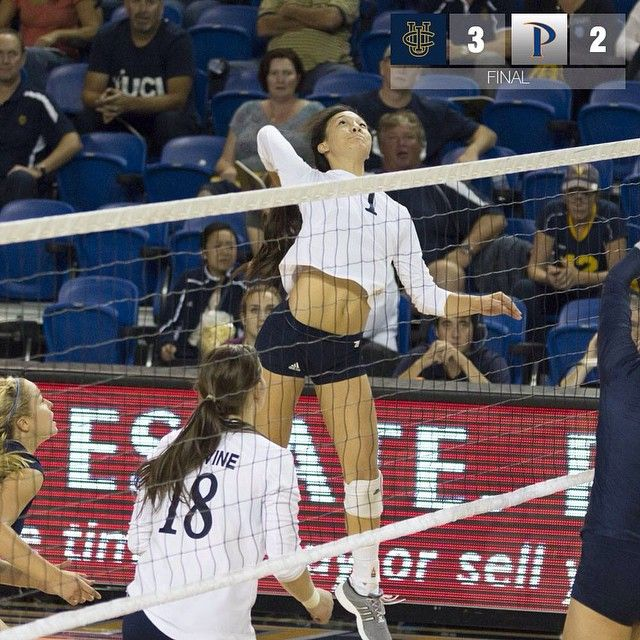 Uci Sr Opp Allison Lee Led The Team Big West Conference With 44 Total Aces In 2014 15 She Finished Tied 8th Al Recorded Books Women Volleyball Victorious