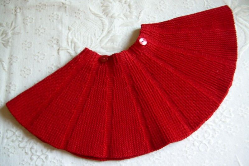 06ea54f7db Gonna a ruota da bambina   Crochet & Knit   Gonna a maglia, Gonne e ...