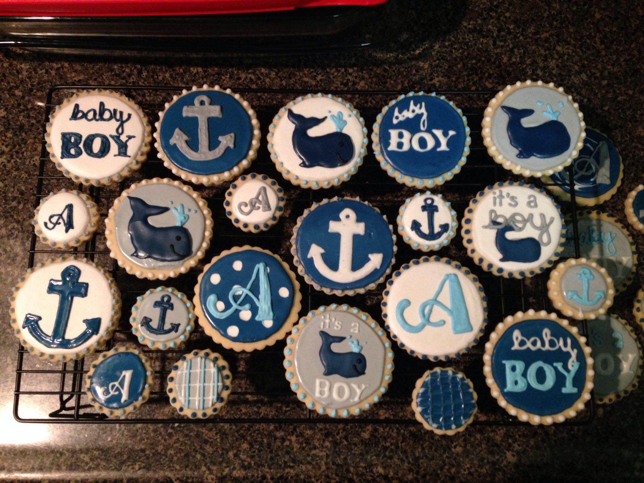 41 best Nautical Boy Baby Shower ideas images on Pinterest