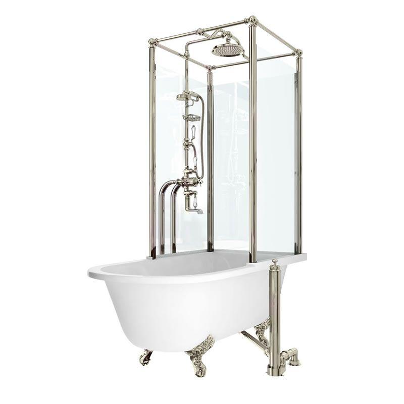home showering shower enclosures royal freestanding over bath free ...
