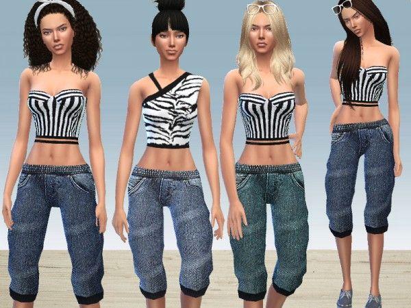 The Sims Resource: Boyish Set by Puresim • Sims 4 Downloads