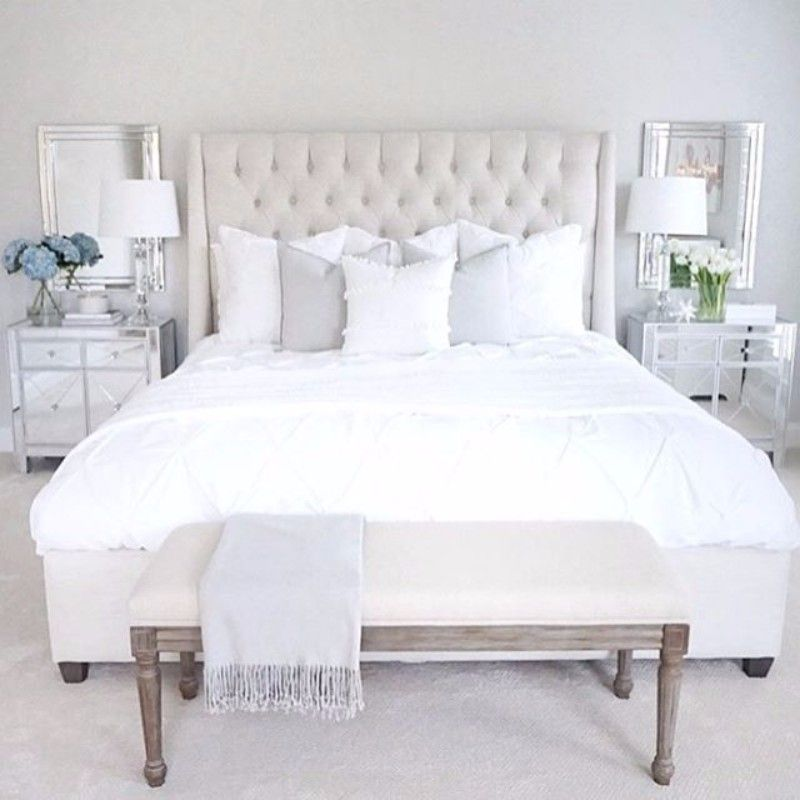 Pinterest\'s 10 Most Charming White Bedroom Designs