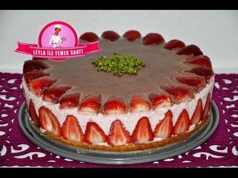 Pfirsich Sahne Torte Rezept Seftalili Kremali Pasta Tarifi