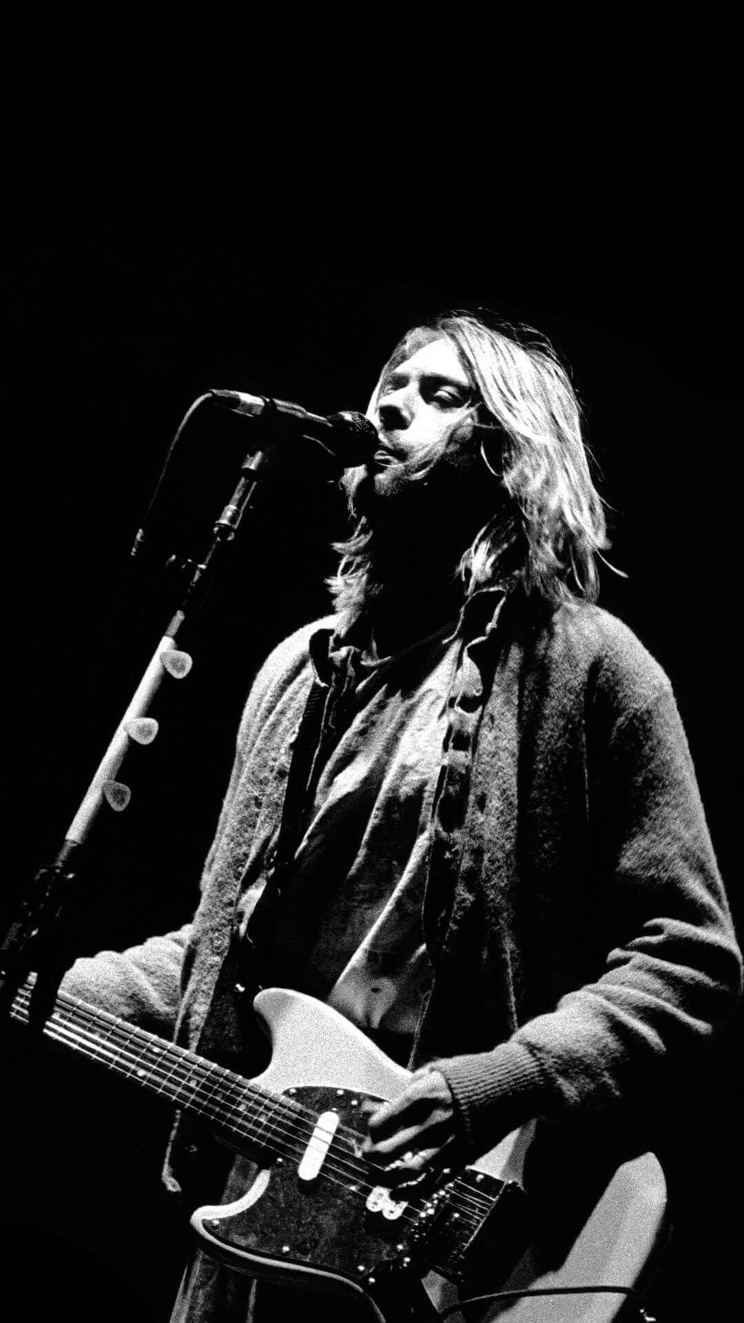 Emo Quotes Live Wallpaper Kurt Cobain Iphone 6 Plus Wallpaper Hd Actors And