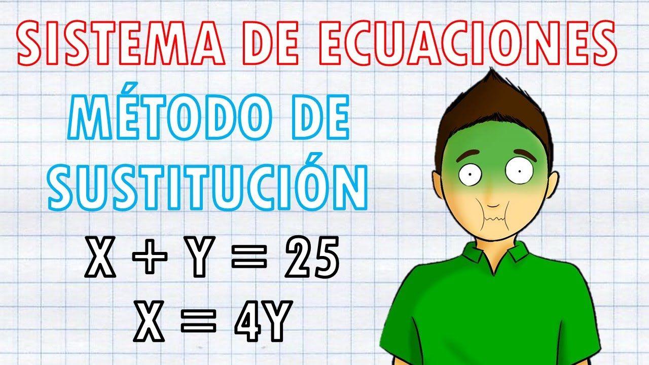 Método De Sustitución Super Facil Simplificar Fracciones Angulos Matematicas Fracciones