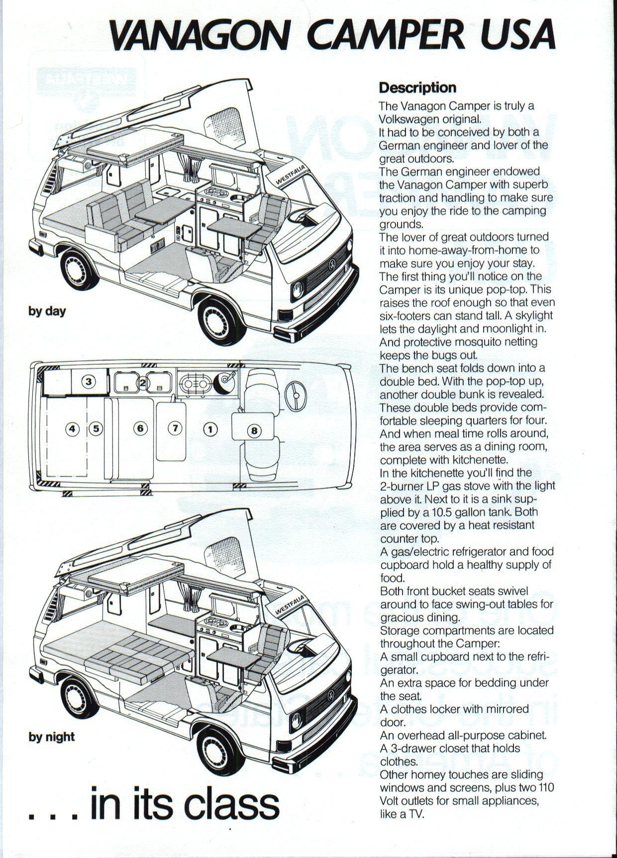 30 Great Photo of Cool Volkswagen Camper Van Interior