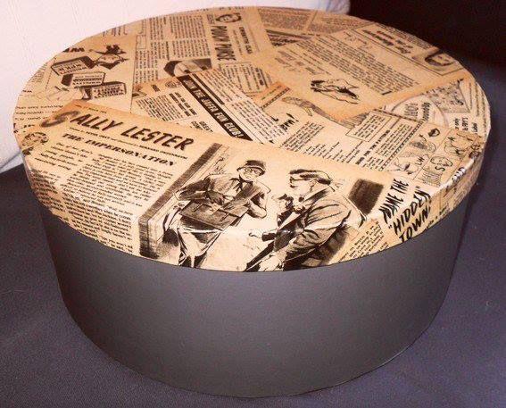 26+ Comment decorer un meuble avec du papier journal trends