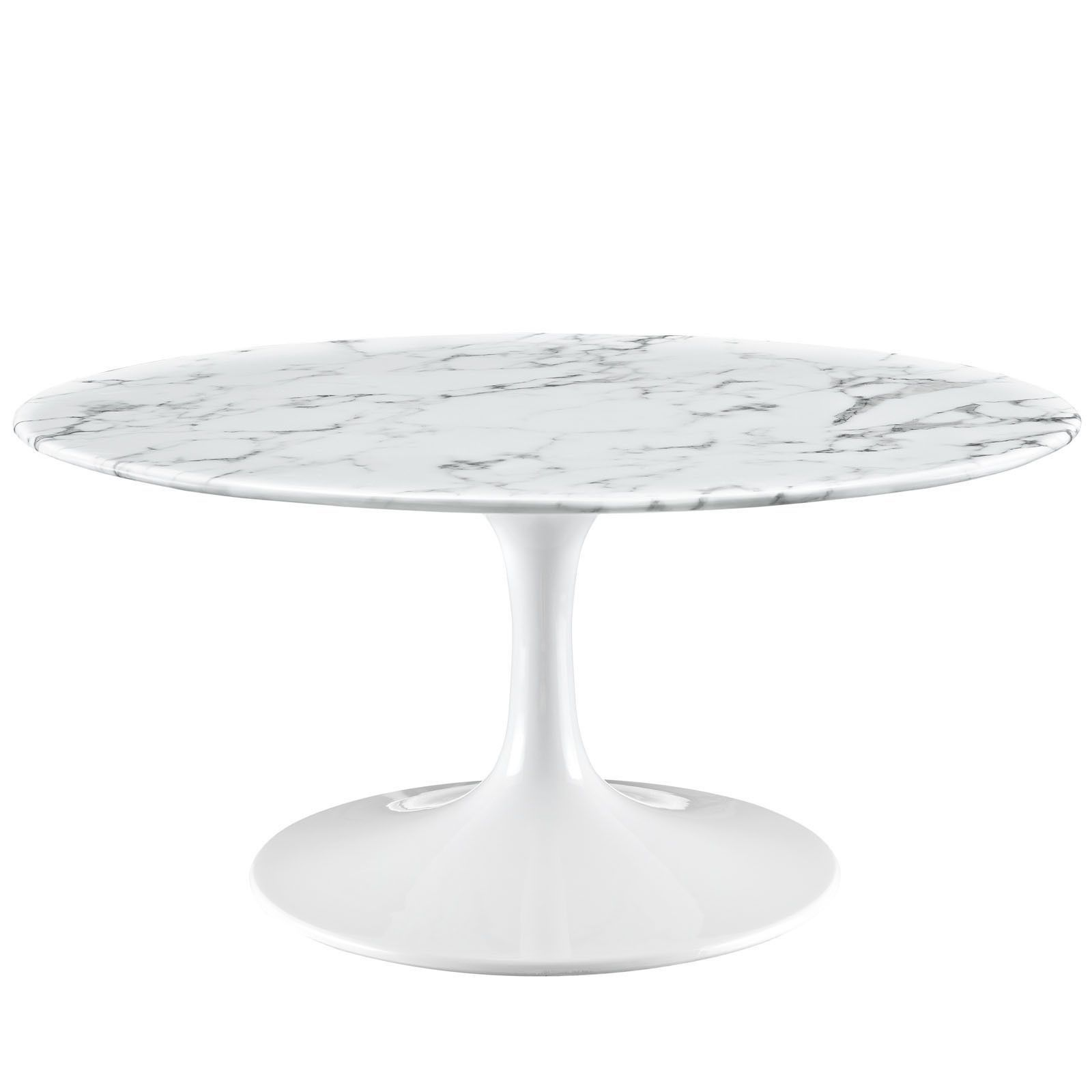 Eero saarinen tulip style 36 marble dining table coffee