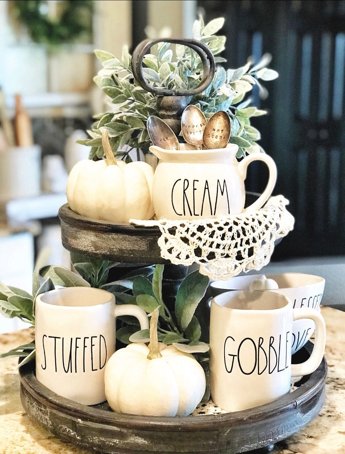 Show Stopping Tiered Trays For Your Fall Decor Tray