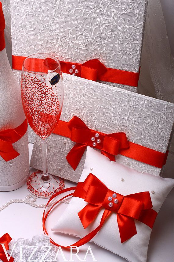 Wedding money Box Wedding red glasses wedding Card Box Set Guest book Cake knife Garter Weddi Wedding money Box Wedding red glasses wedding Card Box Set Guest book Cake k...
