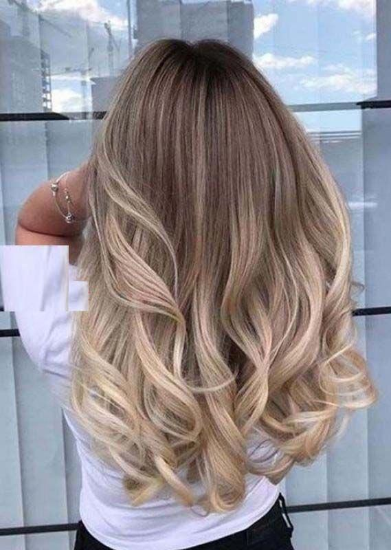 Awesome Long Layred Balayaged Hairstyles Trends in 2019 | Absurd Styles
