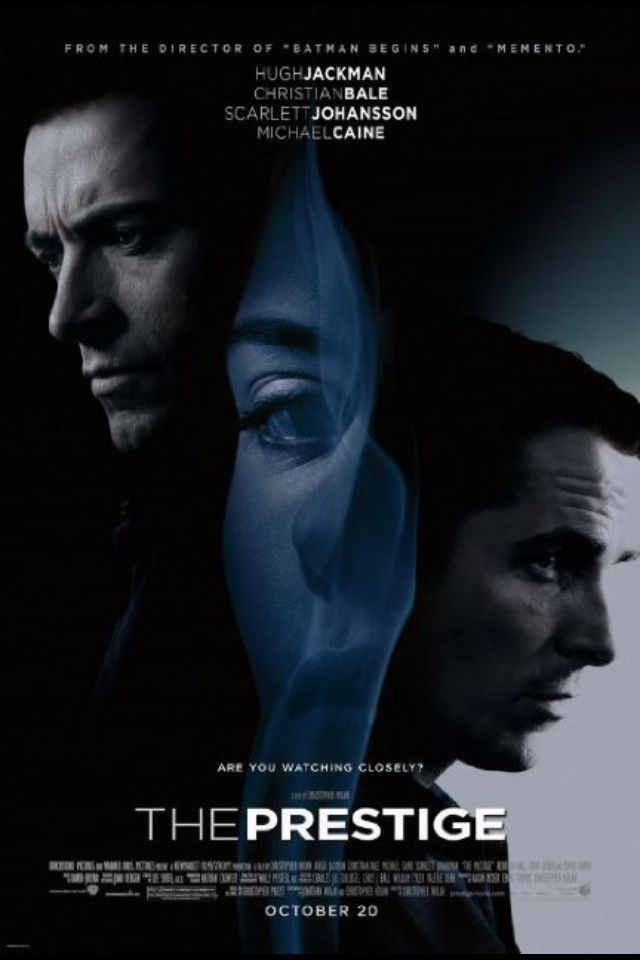 The Prestige  Another nolan masterpiece... He needs to do more non comicbook movies this is great