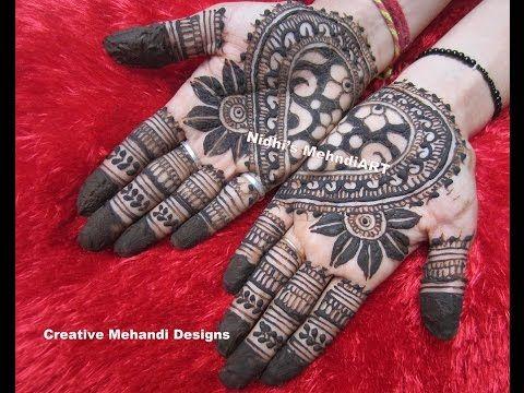 Bridal Mehndi Gta : Youtube heart deel shaped traditional bridal wedding henna