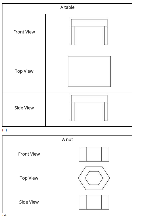 Ncert Solutions For Class 8 Maths Chapter 10 Visualising Solid Shapes Learning Shapes Class 8 Math