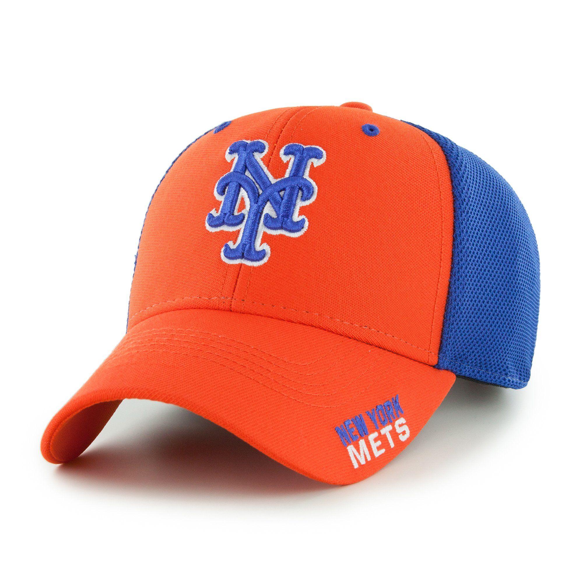 698ed57c0a7 New York Mets New York Mets MLB Baseball Cap   Hat - Orange Blue ...