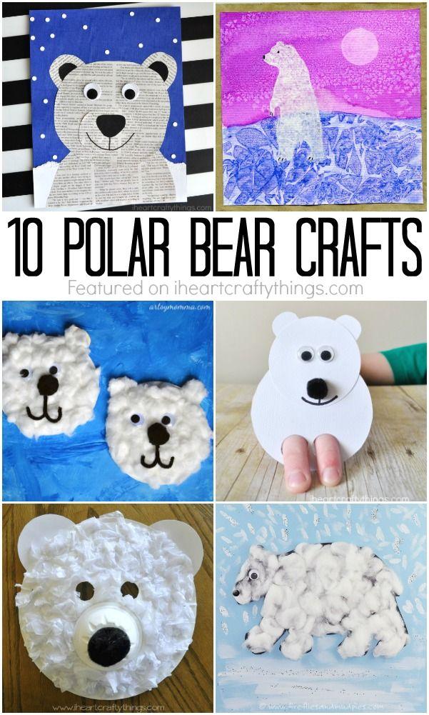 Unbelievably Cute Polar Bear Crafts Bear crafts, Winter