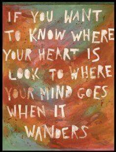 Where does your mind go when it wanders?