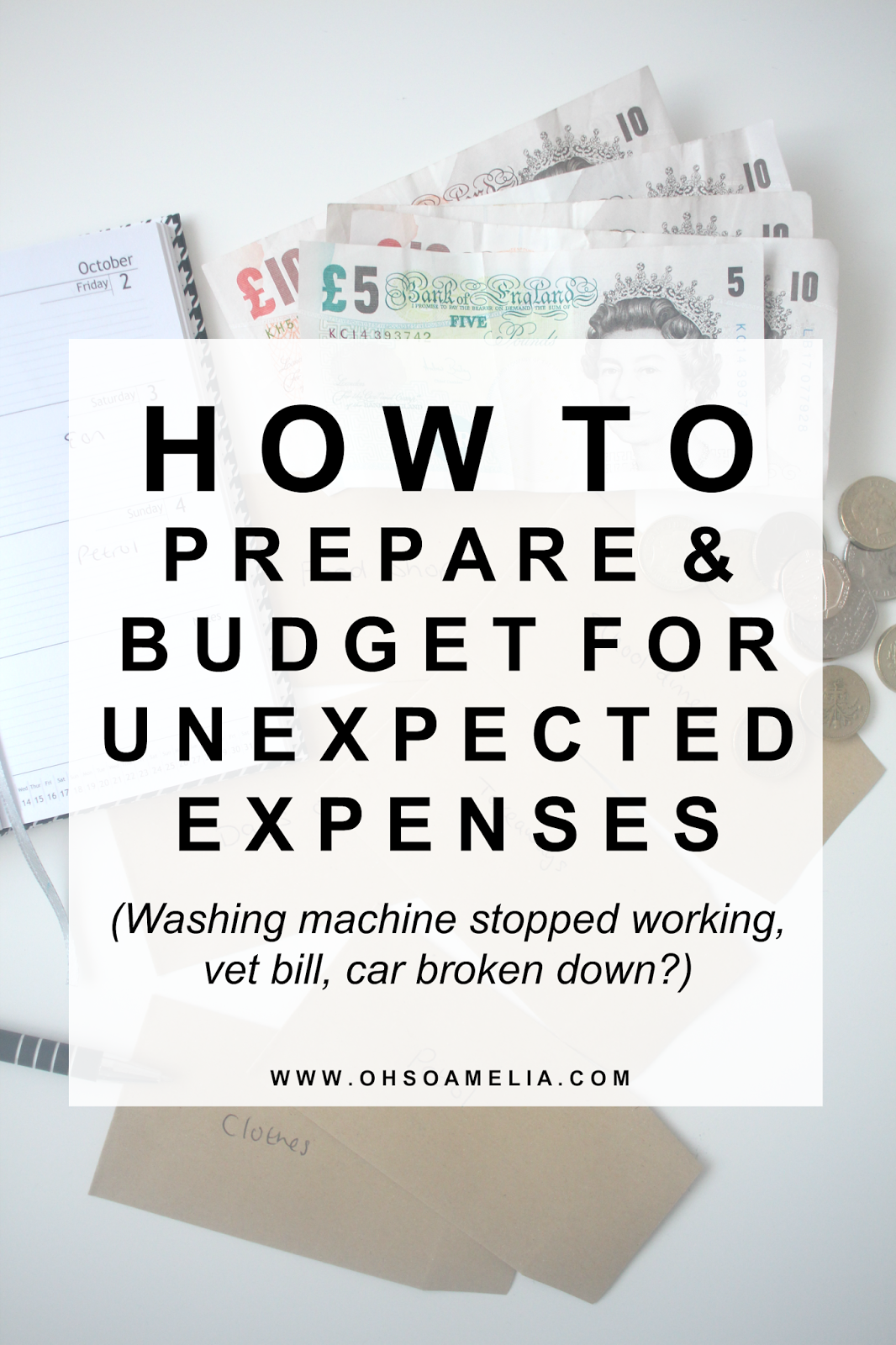 How To Prepare And Budget For Unexpected Expenses