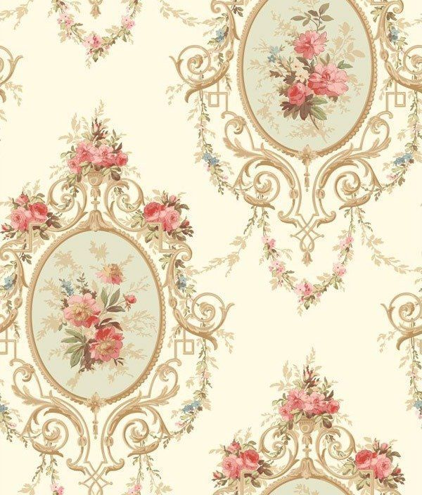 Neoclassic Cameo York Wallcoverings Wallpaper Double Roll