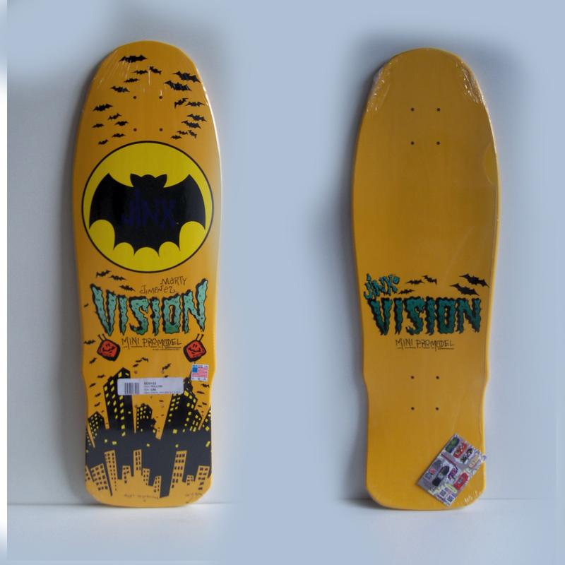 Shape Skate Vision Jinx Oldschool Maple Americano - custom skates