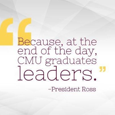 Because At The End Of The Day Cmu Graduates Leaders President