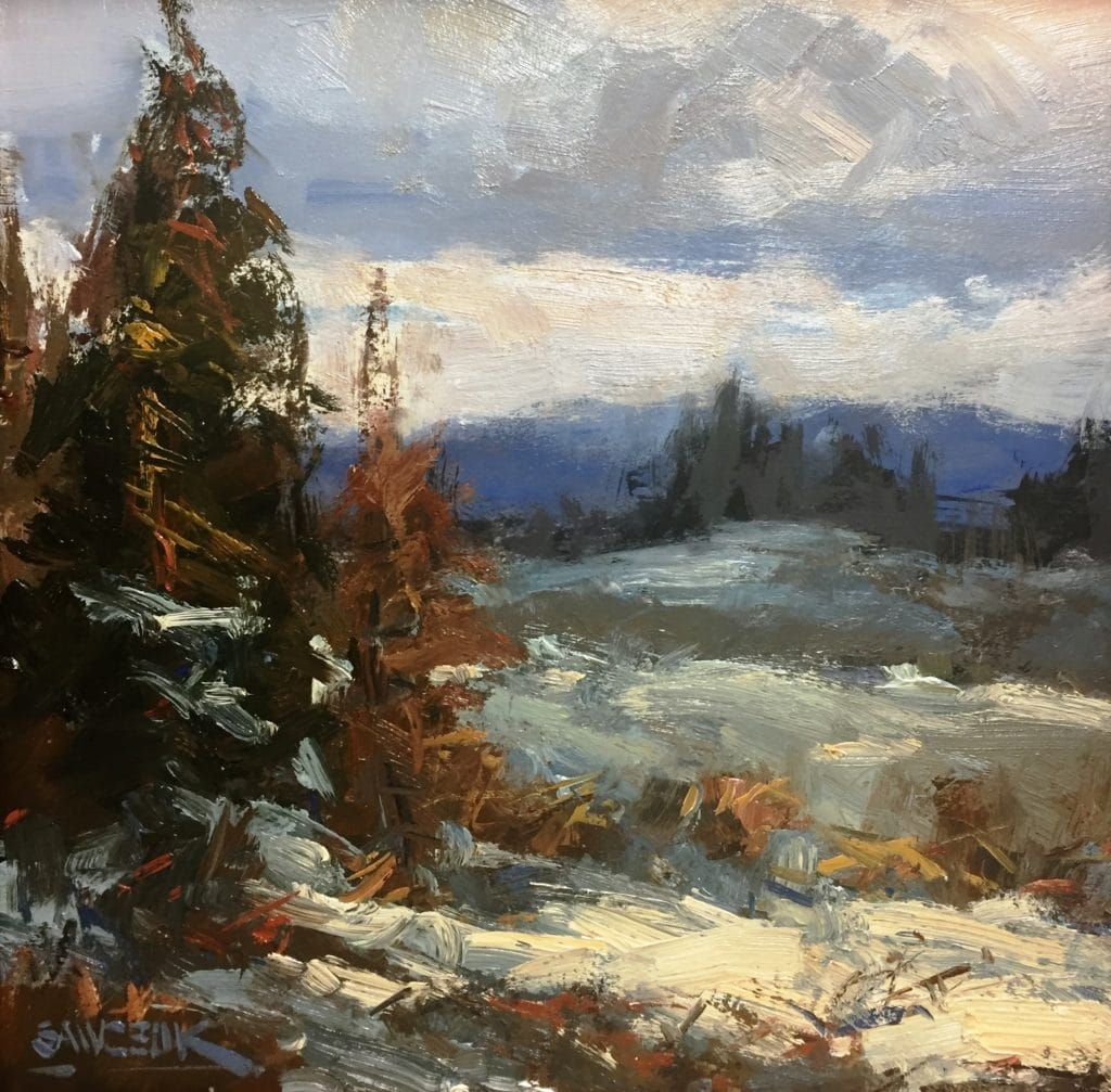 Expressionism in the Tetons (With images) Art painting