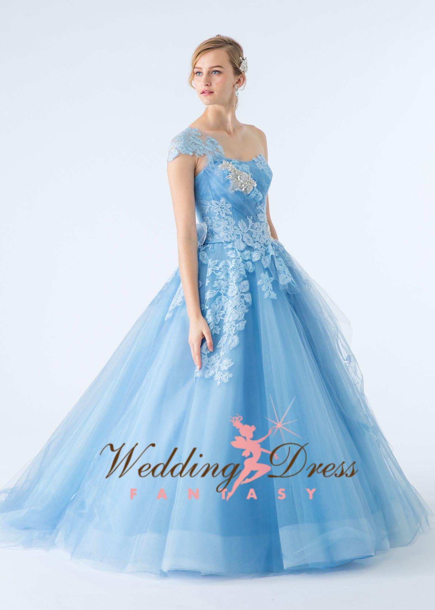 Light blue tulle wedding dress in gowns pinterest wedding