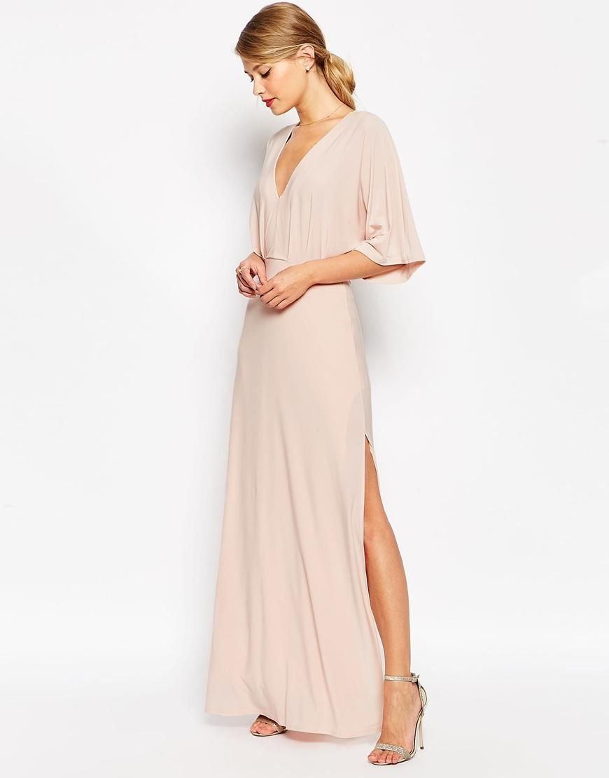 Kimono Plunge Maxi Dress | Pinterest | Tiefer ausschnitt und Ausschnitt