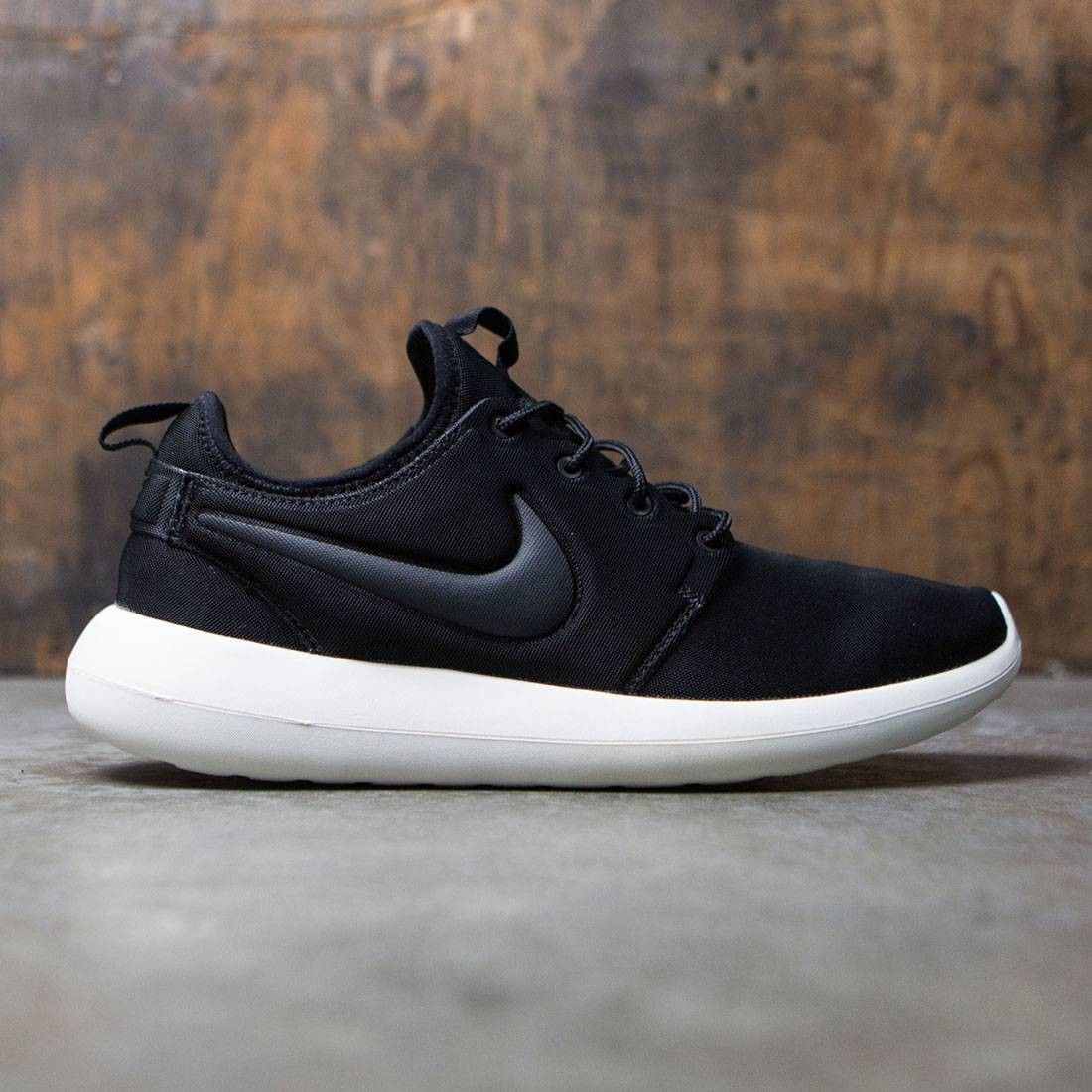 be94b92bf5a6 Nike Men Roshe Two (black   anthracite-sail-volt) in 2019