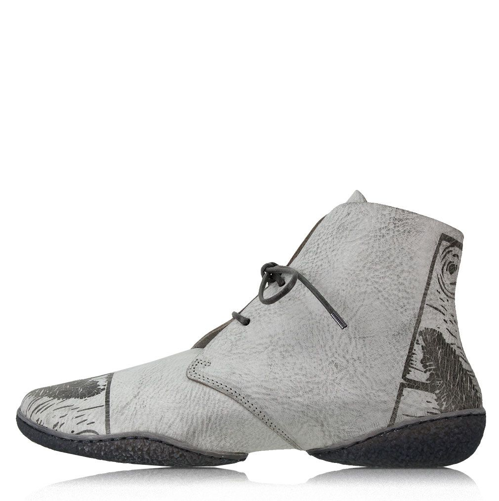 Trippen FEATHA in grau Cups Feather f s Grey ice gry