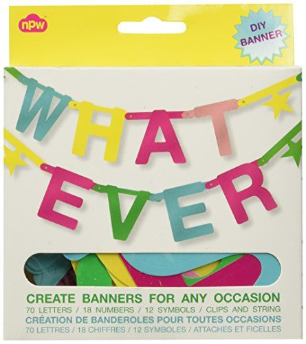 NPW Whatever Banner Kit with 100 Multicoloured Letters Ce... https://www.amazon.co.uk/dp/B0066PITRE/ref=cm_sw_r_pi_dp_x_Uqp-xbB27FYJC