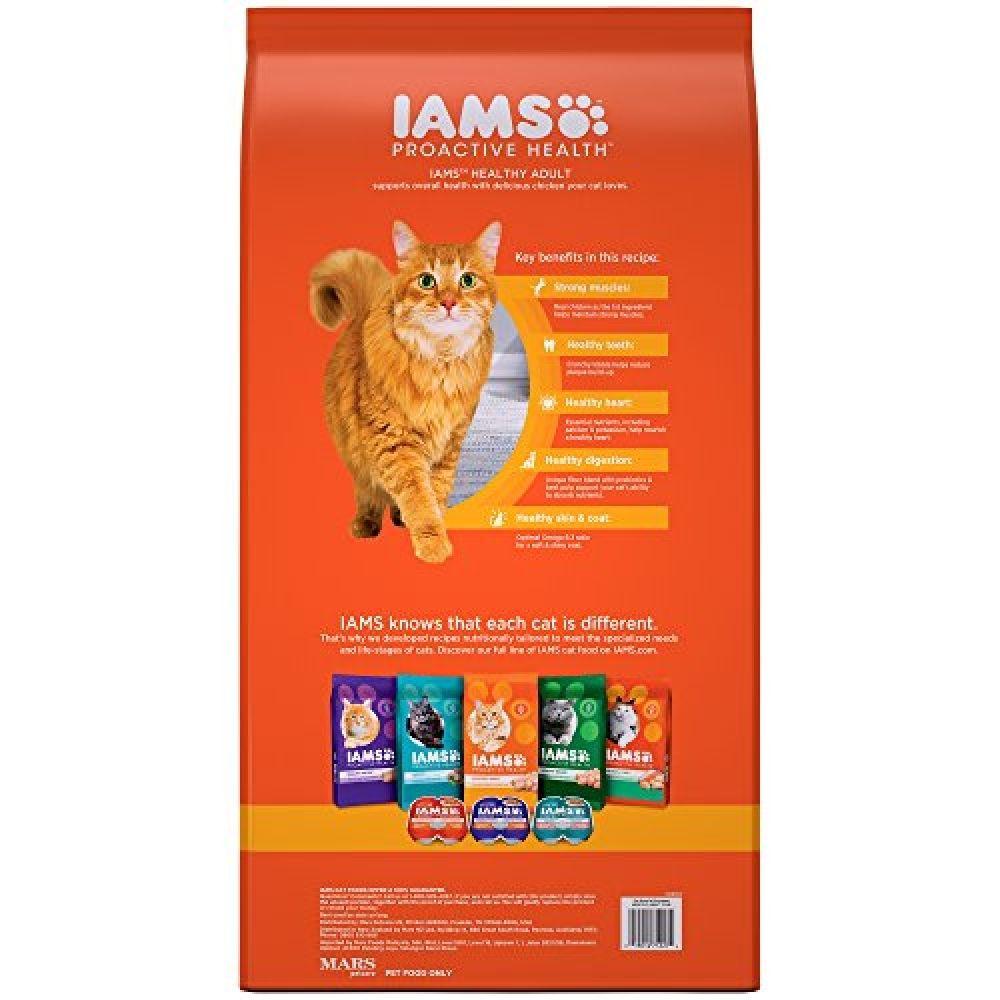 Iams proactive health healthy adult dry cat food chicken