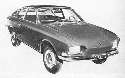 OSI Fiat 850 designed by Michelotti