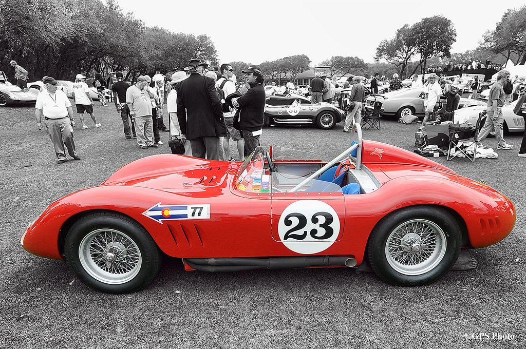 1957 Maserati 200SI at Amelia Island 2012 | Flickr - Photo Sharing!