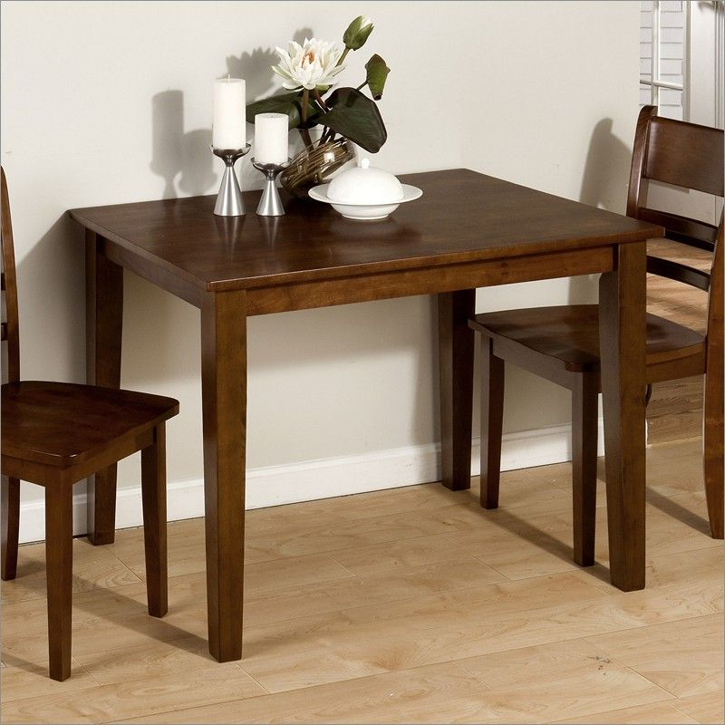 Rectangular Dining Tables For Small Spaces What To Consider Goodworksfurniture In 2020 Small Rectangle Dining Table Wooden Kitchen Table Kitchen Table Settings