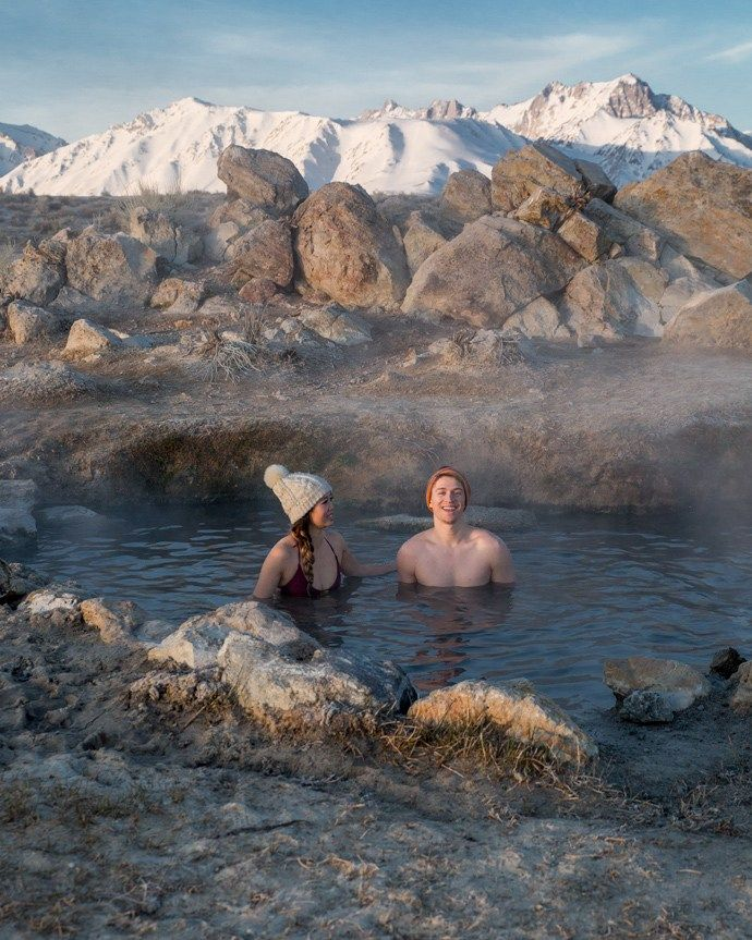 Finding Hot Springs in the Eastern Sierra Mountains | Hot