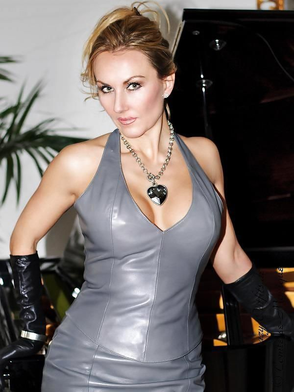 Nok - Comtesse Monique | Leren jurk, Lederen jurken, Jurken