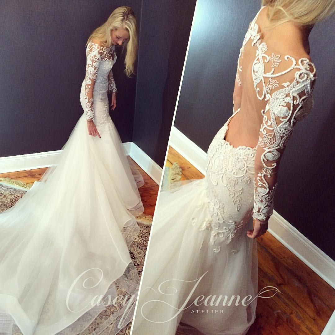 My Last Custom Wedding Gown For 2015 And Going Through The Night Into 2016 In True Style And Elega Custom Wedding Gown Designer Wedding Dresses Wedding Dresses
