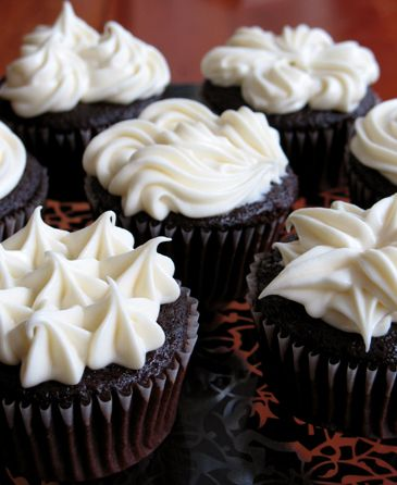 Not Your Average Devil's Food Cupcakes