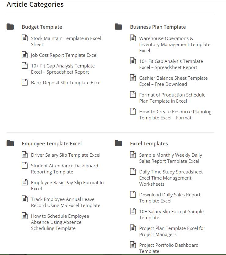 Project Management Article Categories Project Management