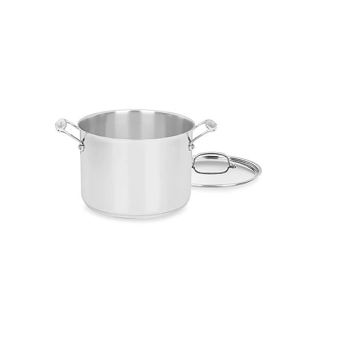 Cuisinart Chef S Classic Stainless Steel Stock Pot With Cover Bed Bath Beyond Cuisinart Steel Stock Stock Pot