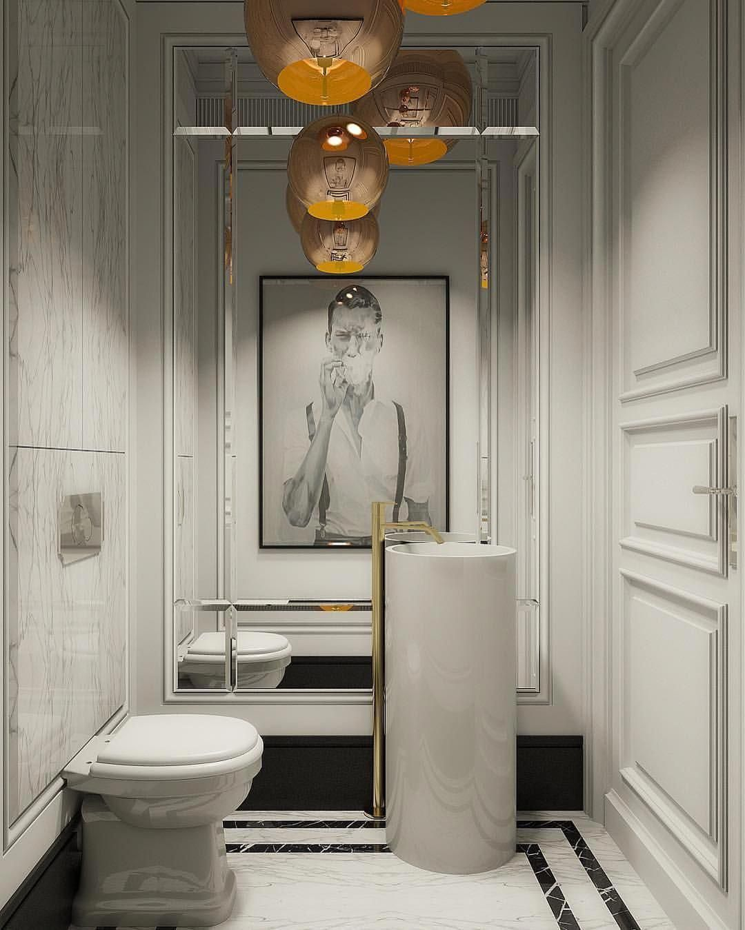 our favorite half bathroom mirror ideas for 2019