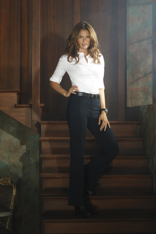 S6 Promo Shoot - Stana Katic as Kate Beckett
