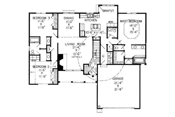 Havenwood Ranch House Plans
