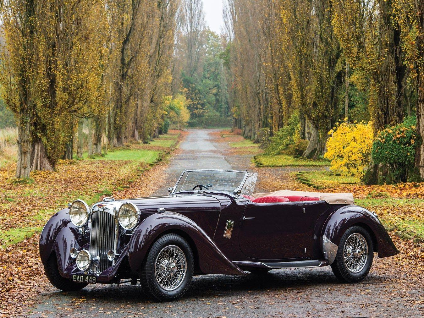 1937 Lagonda LG6 Rapide Tourer | Classy cars, Vintage cars, Cars