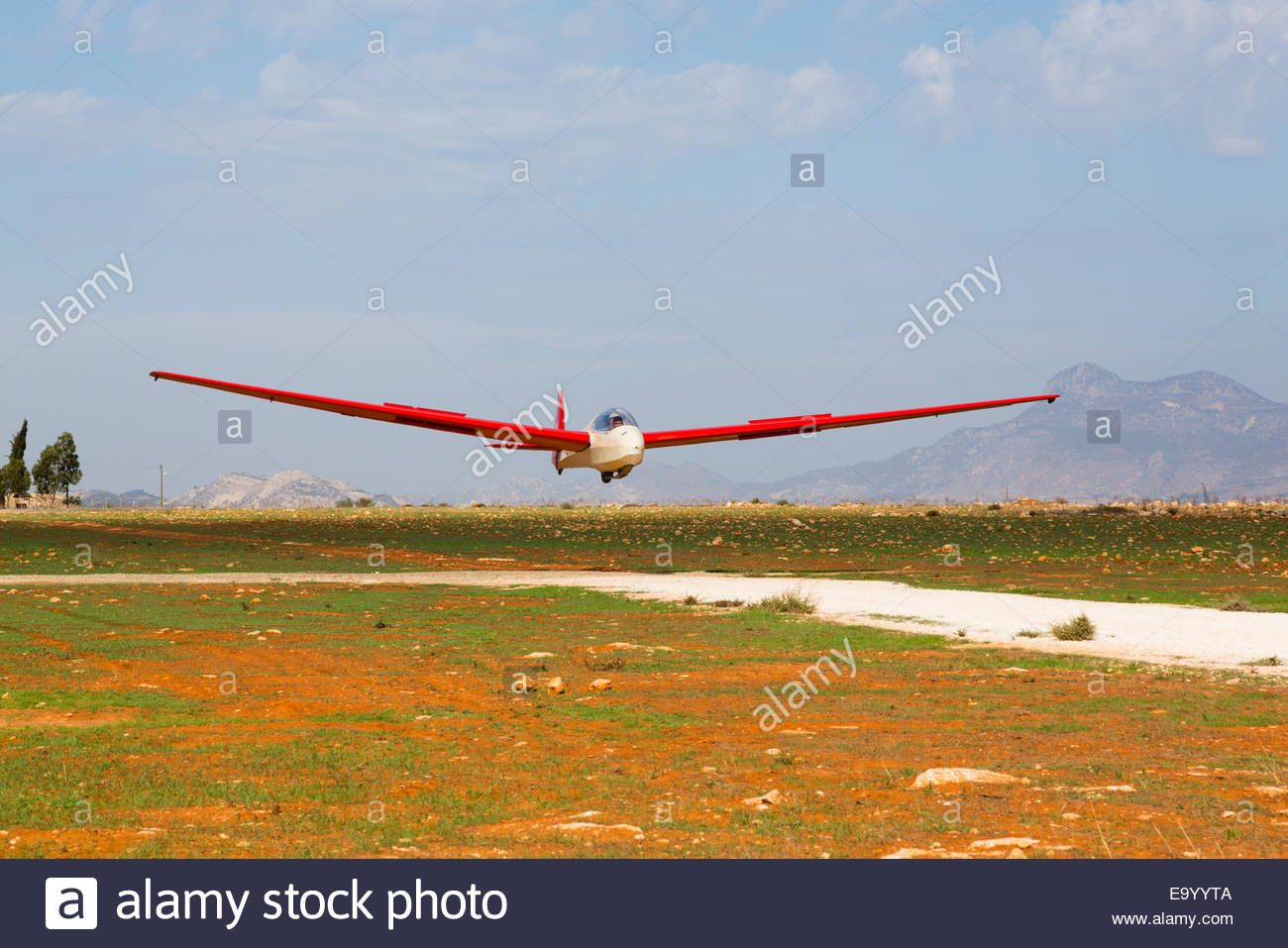 Alexander Schleicher Ask7m Two Seat Training Glider Of The Cyprus Stock Photo 74987930 Alamy