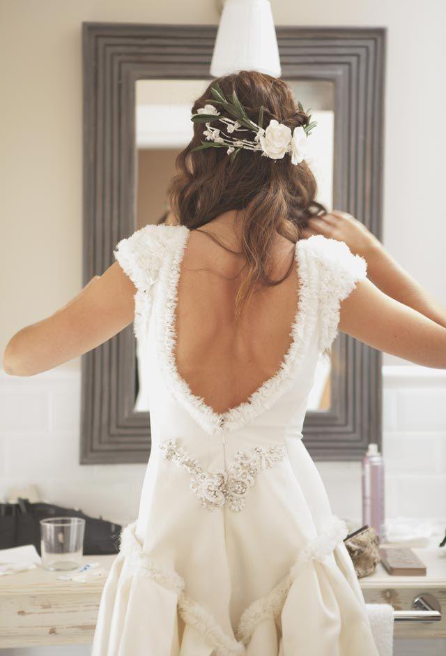 ya viene la novia: las novias de helena mareque y sus velos de